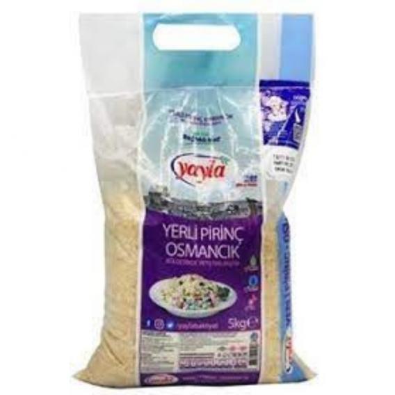 Yayla Osmancık Pirinç 5 Kg