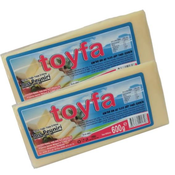 Toyfa Tost Peyniri 600 Gr (1 Alana 1 Bedava)