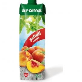 Aroma Şeftalili Meyve Suyu 1 Lt
