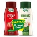 Pınar Ketçap 600 Gr & Mayonez 500 Gr